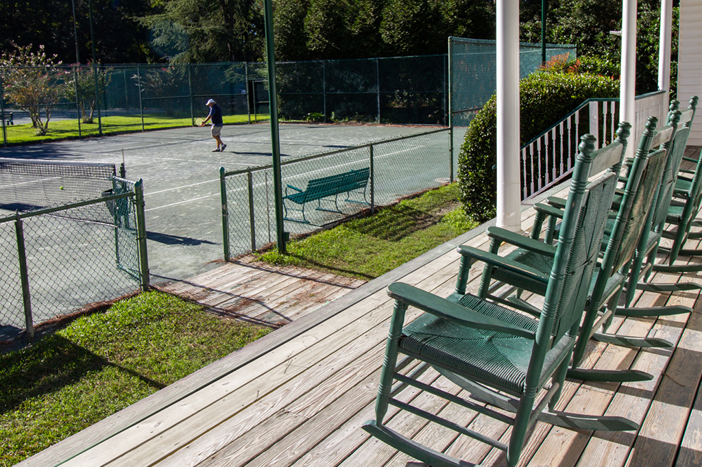 Baywood Racquet Club Porch