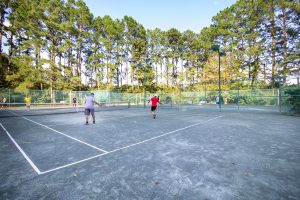 Baywood Members Playing Tennis